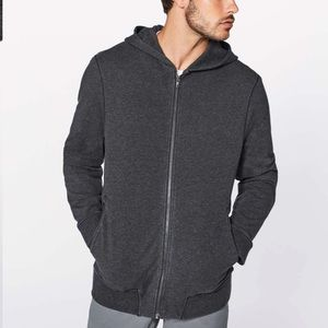 Lululemon Men's cross Cut Hoodie Full zip size S